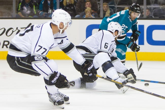 Los Angeles Kings vs. San Jose Sharks - 11/12/17 NHL Pick, Odds, and Prediction