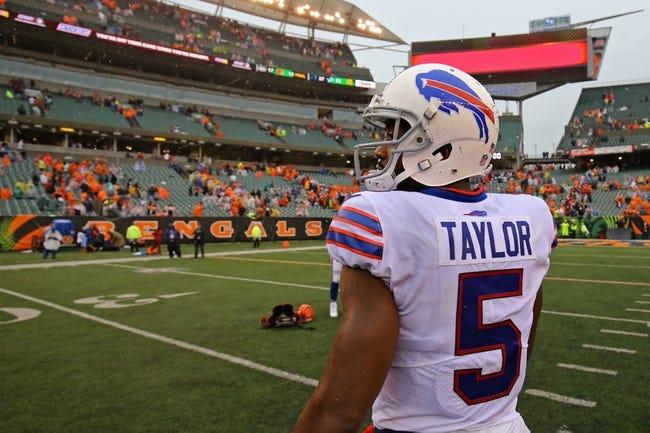 Tampa Bay Buccaneers at Buffalo Bills - 10/22/17 NFL Pick, Odds, and Prediction