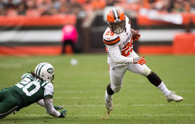 New York Jets at Cleveland Browns - 9/20/18 NFL Pick, Odds, and Prediction