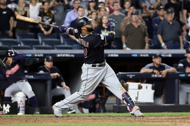 Cleveland Indians at New York Yankees  - 10/9/17 MLB Pick, Odds, and Prediction