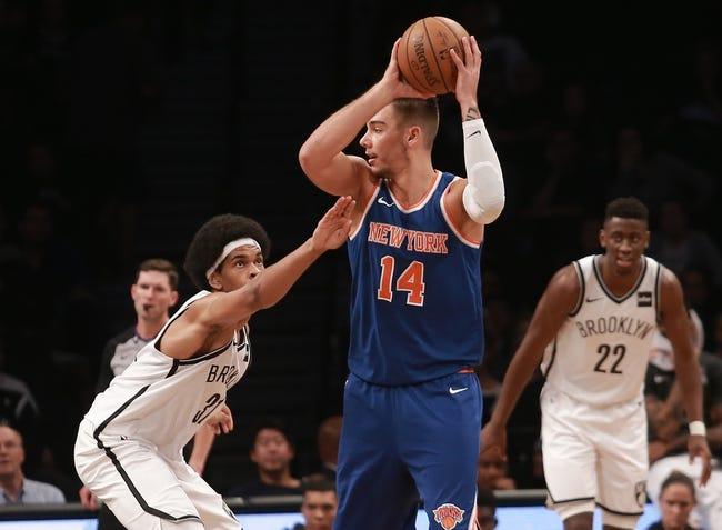 Houston Rockets vs. New York Knicks - 10/9/17 NBA Pick, Odds, and Prediction