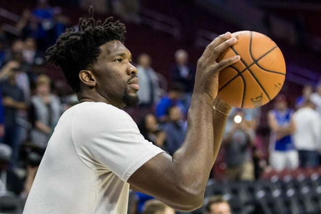 Miami Heat vs. Philadelphia 76ers - 10/13/17 NBA Pick, Odds, and Prediction