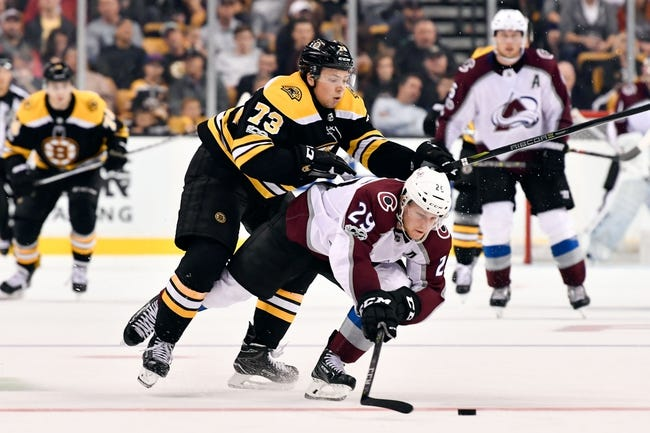 Colorado Avalanche vs. Boston Bruins - 10/11/17 NHL Pick, Odds, and Prediction