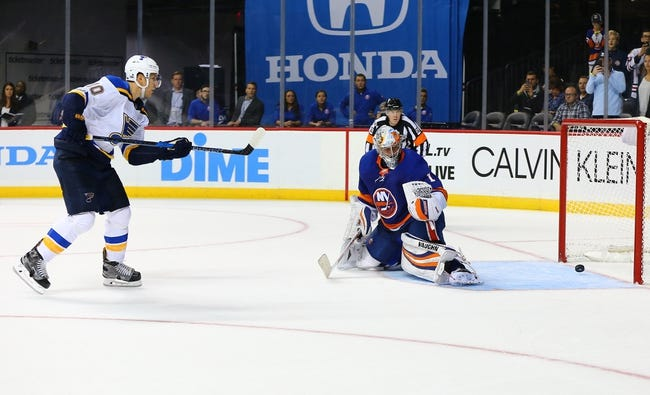 St. Louis Blues vs. New York Islanders - 11/11/17 NHL Pick, Odds, and Prediction
