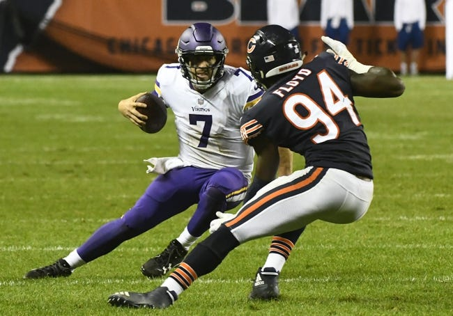Chicago Bears at Minnesota Vikings - 12/31/17 NFL Pick, Odds, and Prediction