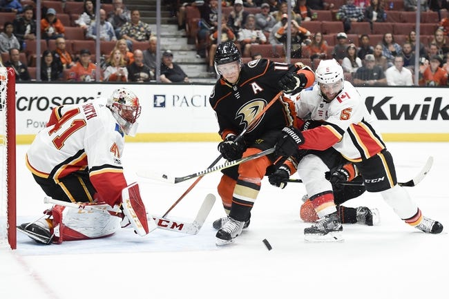 Anaheim Ducks vs. Calgary Flames - 12/29/17 NHL Pick, Odds, and Prediction