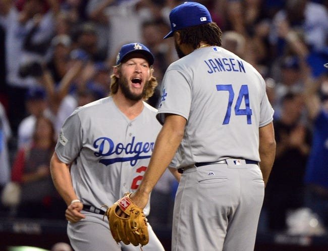Chicago Cubs at Los Angeles Dodgers NLCS - 10/14/17 MLB Pick, Odds, and Prediction
