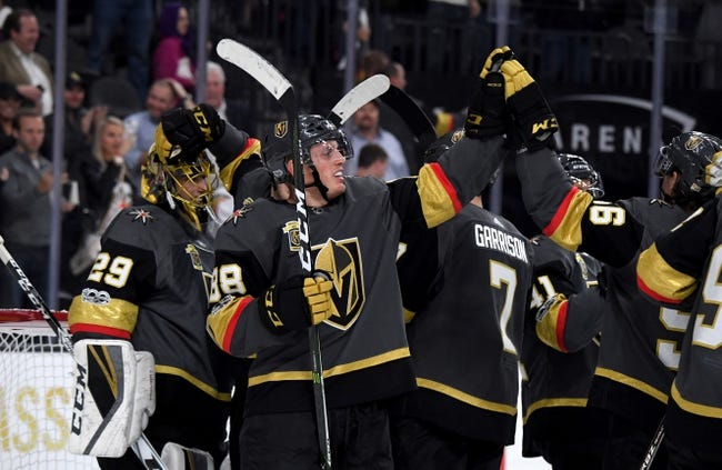 Las Vegas Golden Knights vs. Detroit Red Wings - 10/13/17 NHL Pick, Odds, and Prediction