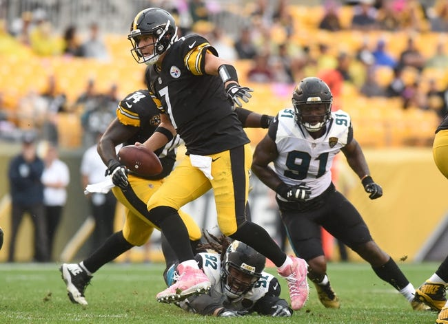 Jacksonville Jaguars at Pittsburgh Steelers - 1/14/18 NFL Pick, Odds, and Prediction