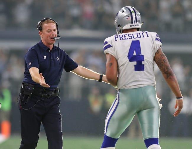 Dallas Cowboys at San Francisco 49ers - 10/22/17 NFL Pick, Odds, and Prediction
