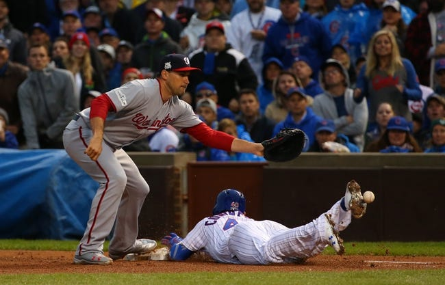 Chicago Cubs at Washington Nationals Game 5 - 10/12/17 MLB Pick, Odds, and Prediction
