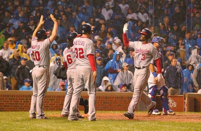 Washington Nationals vs. Chicago Cubs - 10/12/17 MLB Pick, Odds, and Prediction
