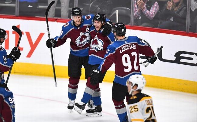 Colorado Avalanche vs. Boston Bruins - 11/14/18 NHL Pick, Odds, and Prediction