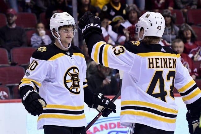 Boston Bruins vs. Arizona Coyotes - 12/7/17 NHL Pick, Odds, and Prediction