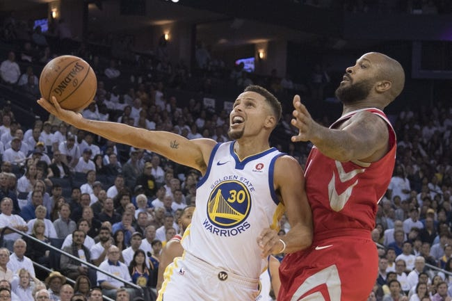 Houston Rockets vs. Golden State Warriors - 1/4/18 NBA Pick, Odds, and Prediction