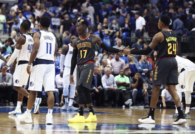 Atlanta Hawks vs. Dallas Mavericks - 12/23/17 NBA Pick, Odds, and Prediction