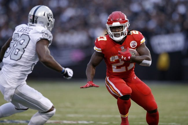 Denver Broncos at Kansas City Chiefs - 10/30/17 NFL Pick, Odds, and Prediction