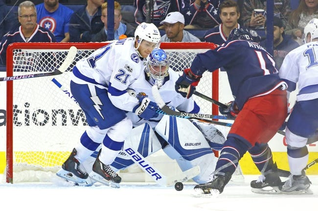 Columbus Blue Jackets vs. Tampa Bay Lightning - 12/31/17 NHL Pick, Odds, and Prediction
