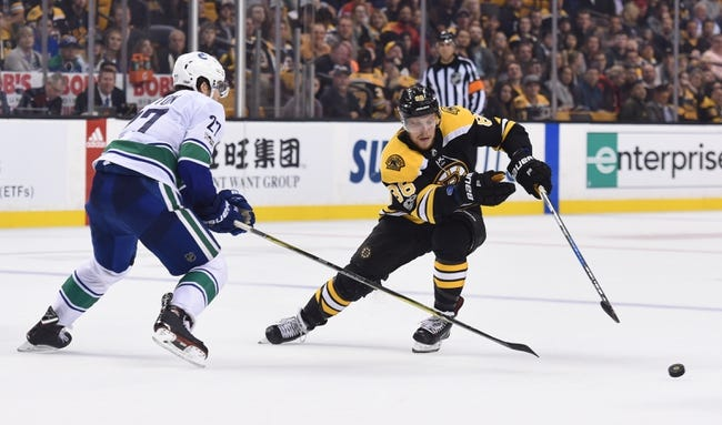 Vancouver Canucks vs. Boston Bruins - 2/17/18 NHL Pick, Odds, and Prediction