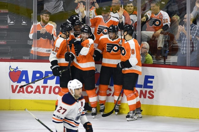 Edmonton Oilers vs. Philadelphia Flyers - 12/6/17 NHL Pick, Odds, and Prediction