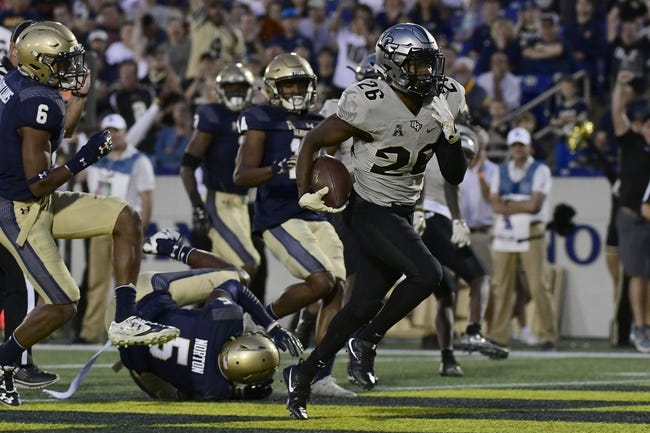 UCF vs. Navy - 11/10/18 College Football Pick, Odds, and Prediction