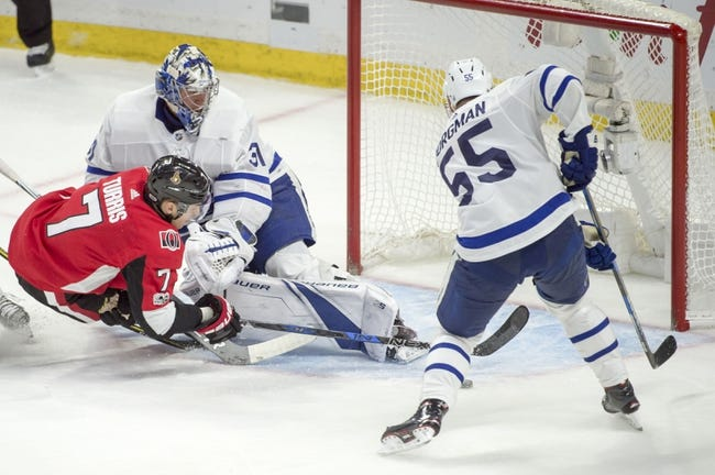 Toronto Maple Leafs vs. Ottawa Senators - 1/10/18 NHL Pick, Odds, and Prediction