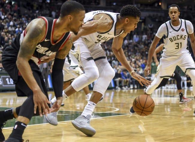 Portland Trail Blazers vs. Milwaukee Bucks - 11/30/17 NBA Pick, Odds, and Prediction