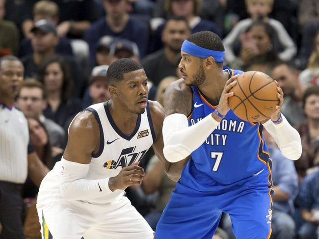Oklahoma City Thunder vs. Utah Jazz - 12/5/17 NBA Pick, Odds, and Prediction