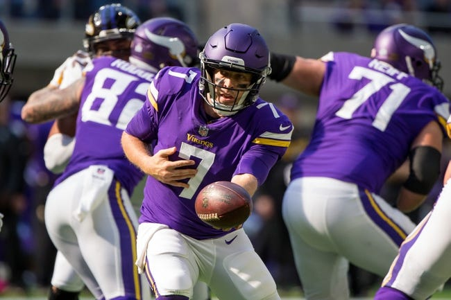 Cleveland Browns vs. Minnesota Vikings - 10/29/17 NFL Pick, Odds, and Prediction