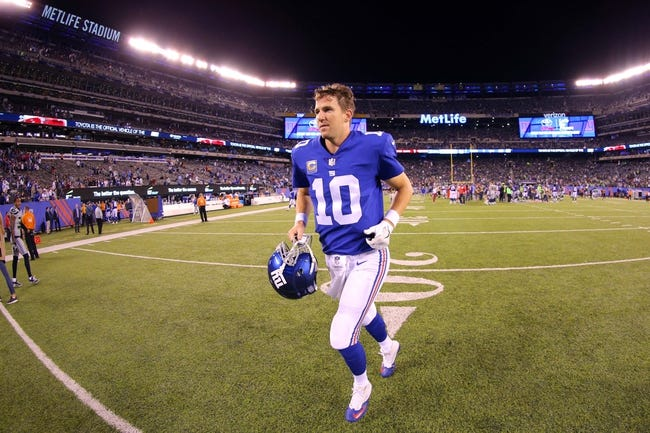 NFL | Los Angeles Rams (5-2) at New York Giants (1-6)