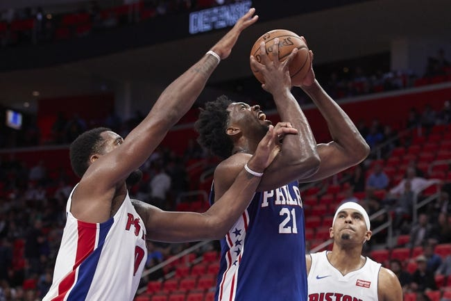 Philadelphia 76ers vs. Detroit Pistons - 12/2/17 NBA Pick, Odds, and Prediction