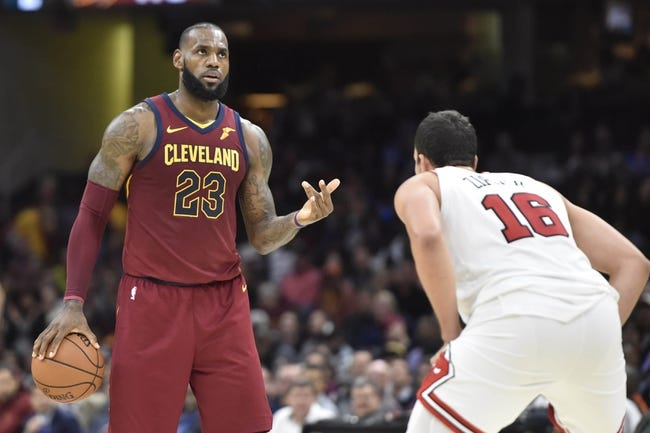 Chicago Bulls vs. Cleveland Cavaliers - 12/4/17 NBA Pick, Odds, and Prediction