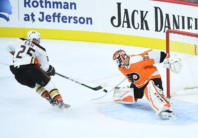 NHL | Philadelphia Flyers (4-7-0) at Anaheim Ducks (5-5-2)