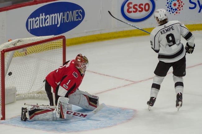 Los Angeles Kings vs. Ottawa Senators - 12/7/17 NHL Pick, Odds, and Prediction