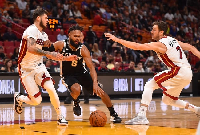San Antonio Spurs vs. Miami Heat - 12/6/17 NBA Pick, Odds, and Prediction