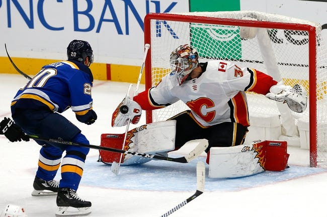 Calgary Flames vs. St. Louis Blues - 11/13/17 NHL Pick, Odds, and Prediction