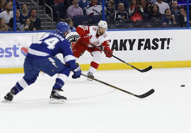 Detroit Red Wings vs. Tampa Bay Lightning - 1/7/18 NHL Pick, Odds, and Prediction