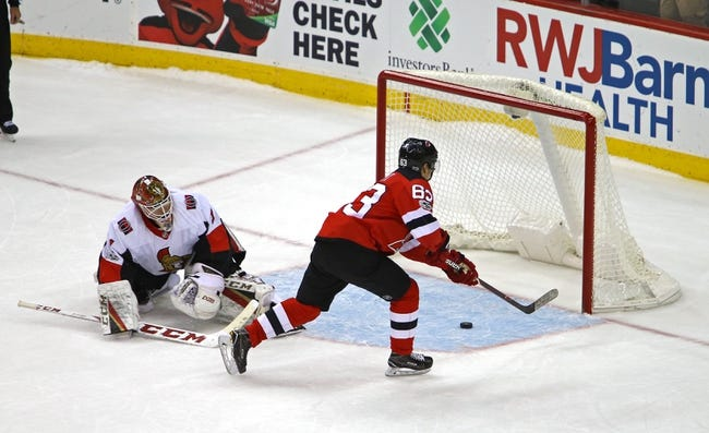 Ottawa Senators vs. New Jersey Devils - 2/6/18 NHL Pick, Odds, and Prediction