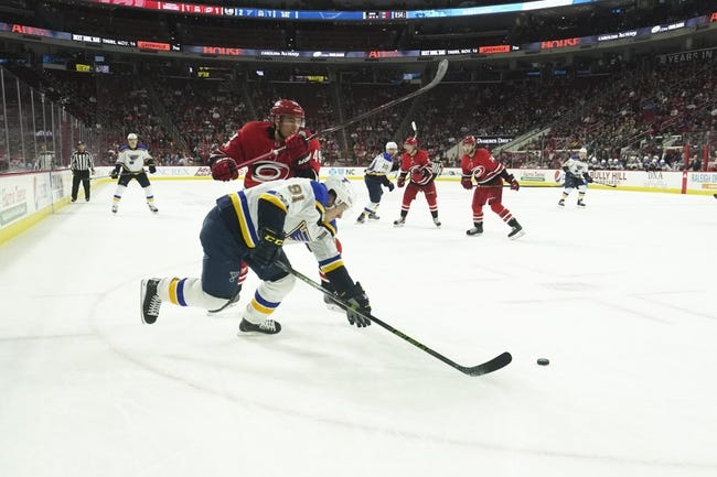 St. Louis Blues vs. Carolina Hurricanes - 12/30/17 NHL Pick, Odds, and Prediction