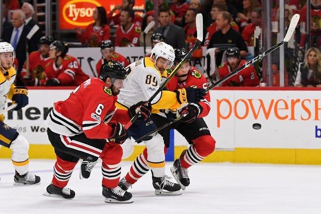 Nashville Predators vs. Chicago Blackhawks - 11/28/17 NHL Pick, Odds, and Prediction