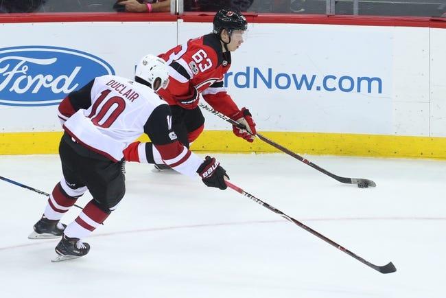 Arizona Coyotes vs. New Jersey Devils - 12/2/17 NHL Pick, Odds, and Prediction