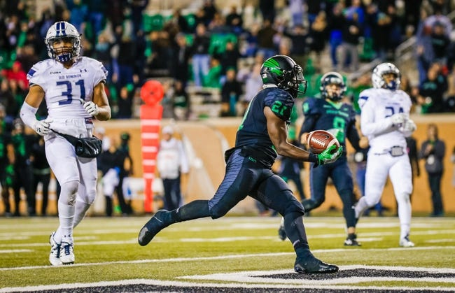 CFB | North Texas Mean Green (7-2) at Old Dominion Monarchs (2-7)