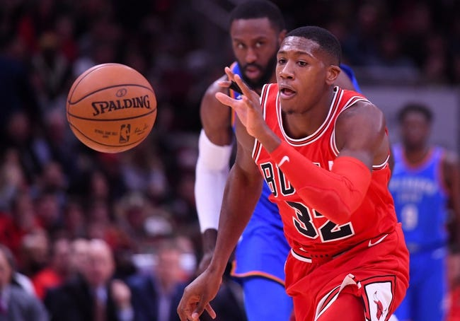 Oklahoma City Thunder vs. Chicago Bulls - 11/15/17 NBA Pick, Odds, and Prediction