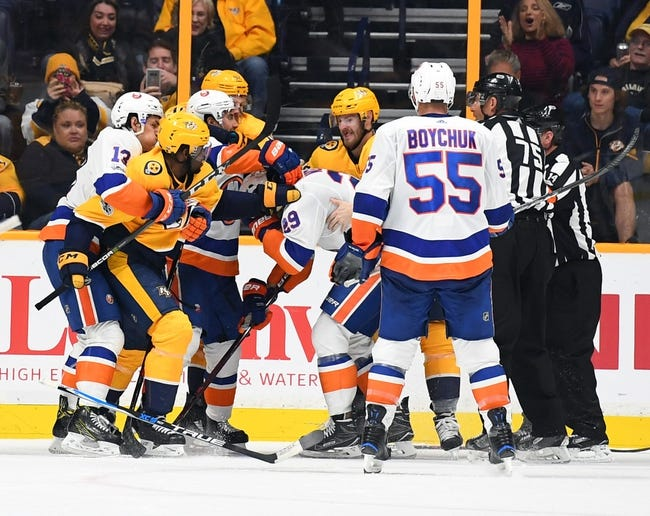 New York Islanders vs. Nashville Predators - 2/5/18 NHL Pick, Odds, and Prediction