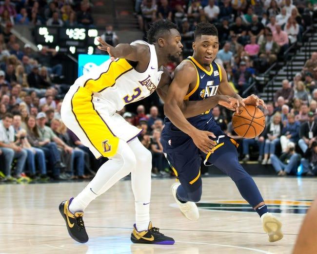 Utah Jazz vs. Los Angeles Lakers - 4/3/18 NBA Pick, Odds, and Prediction