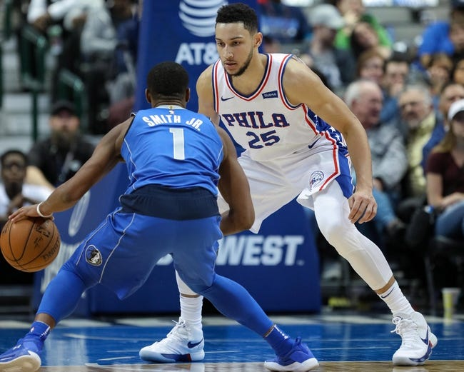 NBA | Dallas Mavericks (24-56) at Philadelphia 76ers (49-30)