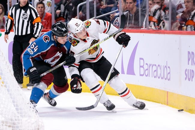 Chicago Blackhawks vs. Colorado Avalanche - 3/6/18 NHL Pick, Odds, and Prediction
