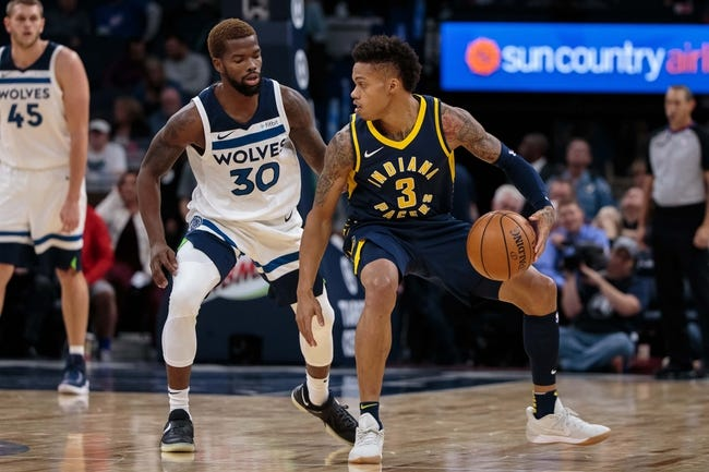 Indiana Pacers vs. Minnesota Timberwolves - 12/31/17 NBA Pick, Odds, and Prediction