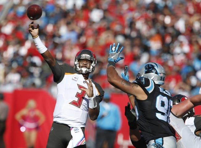 Tampa Bay Buccaneers at Carolina Panthers - 12/24/17 NFL Pick, Odds, and Prediction