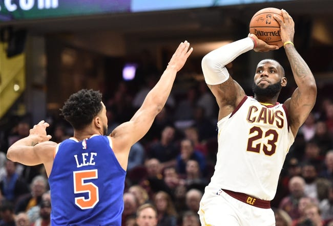 New York Knicks vs. Cleveland Cavaliers - 11/13/17 NBA Pick, Odds, and Prediction